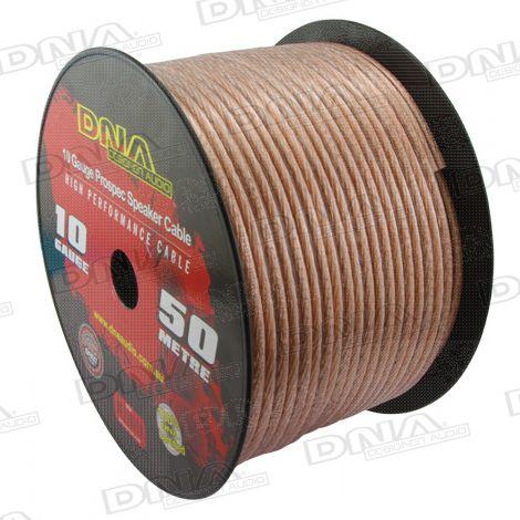 10 Gauge Speaker Cable - 50 Metres