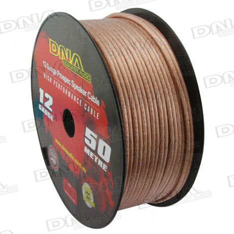 12 Gauge Speaker Cable - 50 Metres