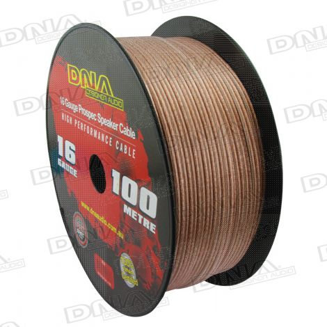 16 Gauge Speaker Cable - 100 Metres