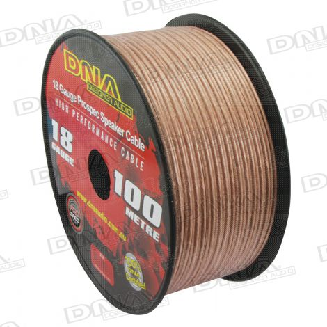 18 Gauge Speaker Cable - 100 Metres