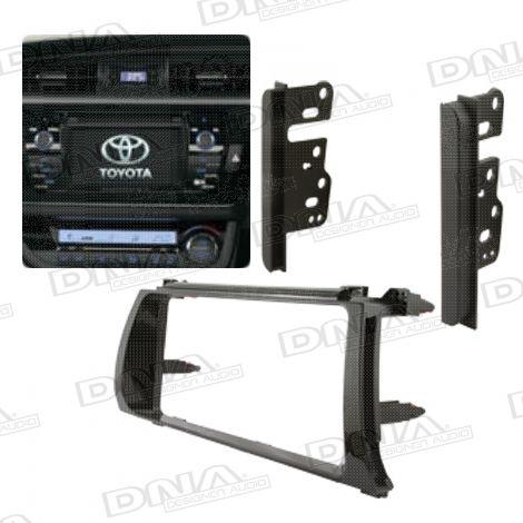Fascia Panel To Suit Toyota Corolla Sedan Only - Black