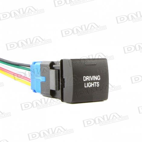 Small Square Switch To Suit Toyota - Driving Lights