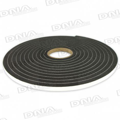 Single Sided Adhesive Foam Tape 10mm W x 12.7mm - 7.6 Mtr
