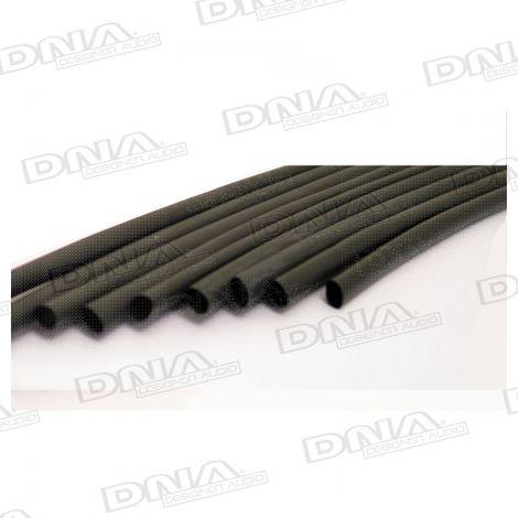 Heatshrink Black 6mm - 10 Pack