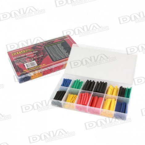 Mixed Heat Shrink Pack - 280 Pieces