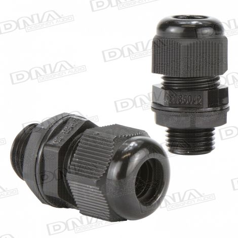 16mm Nylon Cable Gland - 10 Pack