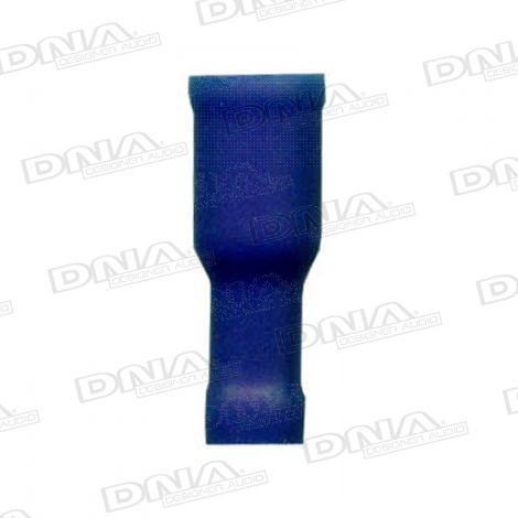 4mm Blue Female Bullet Crimp Terminals 100 Pack