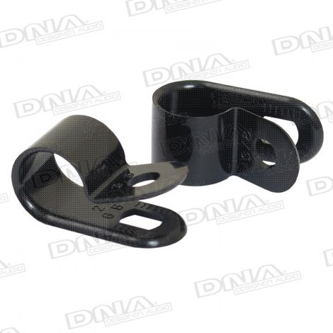 9.5mm P Clip Clamp - 100 Pack
