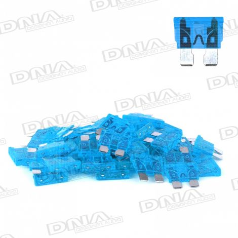 15 Amp Blade Fuse - 50 Pack