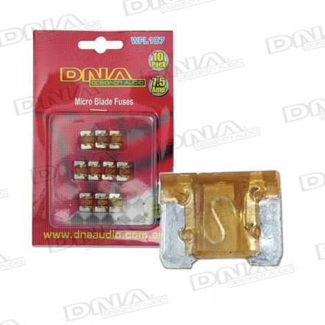 7.5 Amp Micro Blade Fuse - 10 Pack
