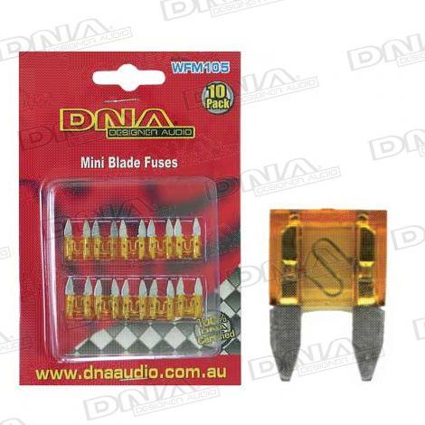 7.5 Amp Mini Blade Fuse - 10 Pack