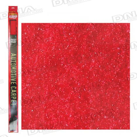 2 Metre x 1 Metre Speaker Carpet Red