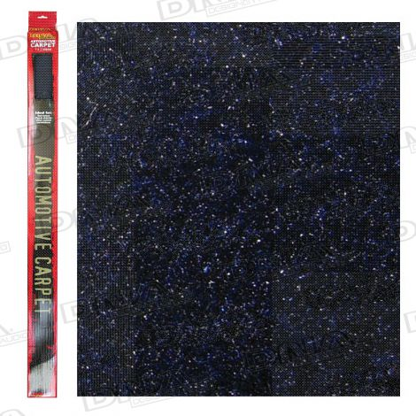 2 Metre x 1 Metre Speaker Carpet Black / Blue