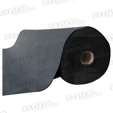 Speaker Carpet 25 Metres x 2 Metres Black