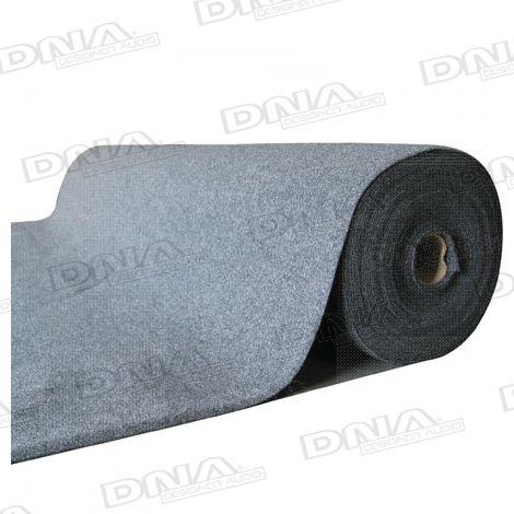 Speaker Carpet 25 Metres x 2 Metres Grey