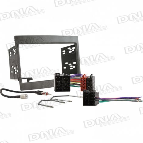 Double DIN Install Kit Pack To Suit Holden Commodore VY-VZ Grey