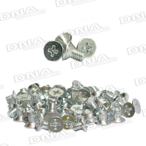 8mm ISO Stereo Mounting Screws - 100 Pack