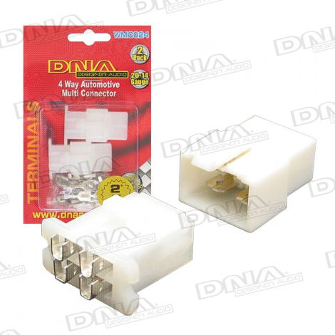 4 Way Auto Multi Connector - 2 Pack