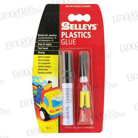 Selleys 2 Parts Plastic Glue 3ml
