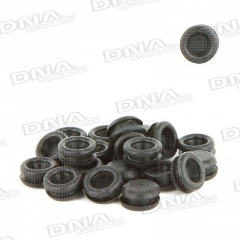 7.14mm Rubber Blanking Grommet - 50 Pack