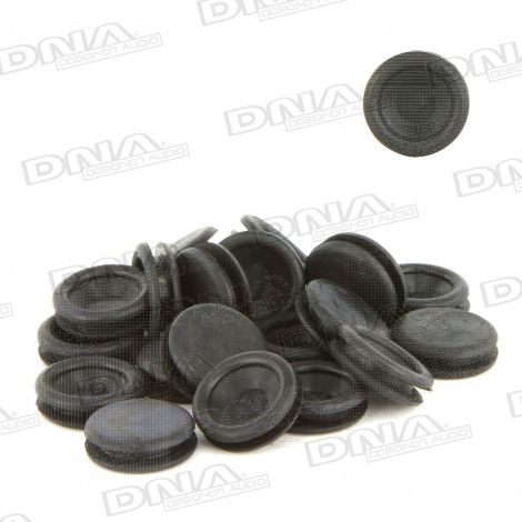 9.35mm Rubber Blanking Grommet - 50 Pack