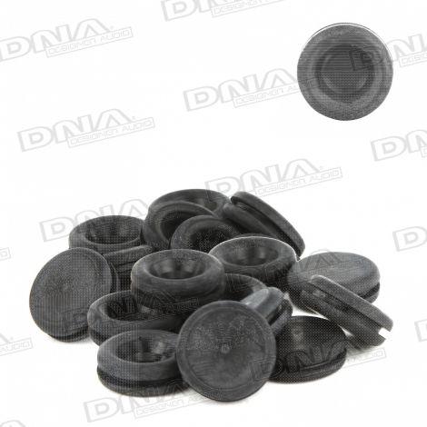 12.07mm Rubber Blanking Grommet - 50 Pack