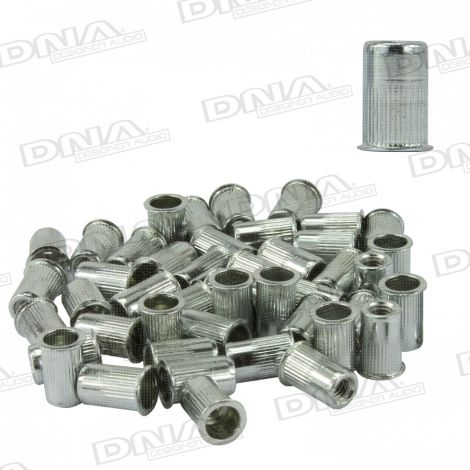 4mm Rivnuts Nutserts - 100 Pack
