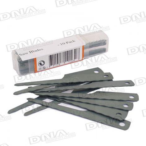 Saw Blades 18TPI - 10 Pack