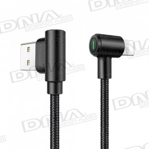 Right-Angle Lightning to Right-Angle Reversible USB Lead - 1.8m