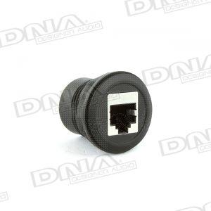 Universal Round Flush Mount RJ45 UHF Microphone Socket