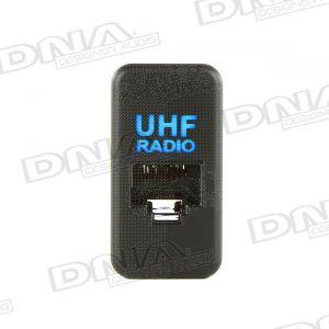 UHF Socket With Illumination To Suit Toyota - Large Socket