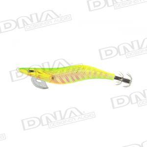 Clicks 2.5 Size Squid Lure Colour SH08 - Sandeel Lime Chart