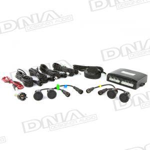 E Series - 4 x 18.5mm Parking Sensor Kit With Buzzer