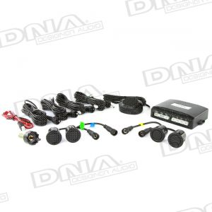 E Series - 4 x 21.5mm Parking Sensor Kit With Buzzer