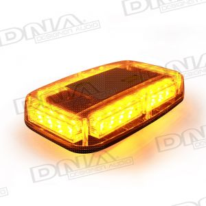 Large Amber 24 LED Light With Magnets