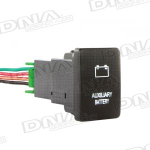 Small Switch To Suit Toyota - Auxiliary Battery