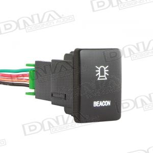 Small Switch To Suit Toyota - Beacon Light