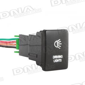 Small Switch To Suit Toyota - Driving Lights