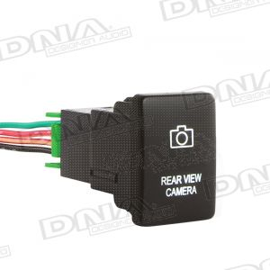 Small Switch To Suit Toyota - Rear View Camera