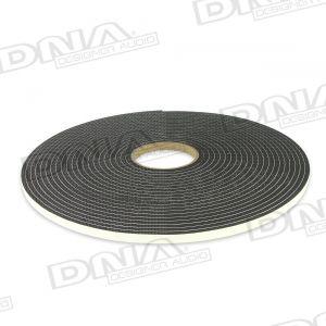 Single Sided Adhesive Foam Tape 10mm W x 6.4mm - 15.2 Mtr