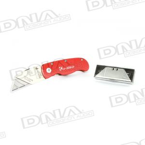 Foldable Lock Back 150mm Utility Knife with SK5 blade
