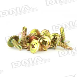 Gold 12mm Self Drilling Screw 8G - 100 Pack