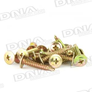 Gold 25mm Self Drilling Screw 8G - 100 Pack